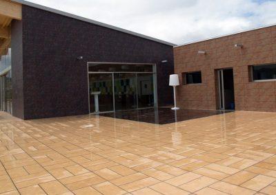 ceramica pavimento fachada